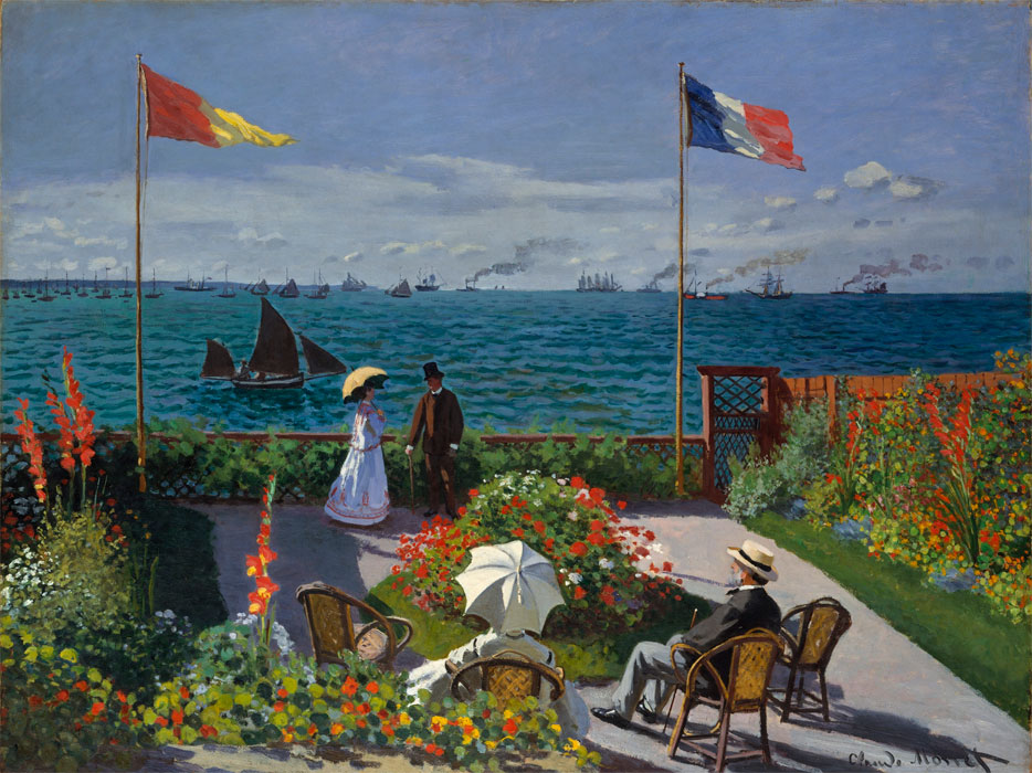 a description of claude monet and his friends contribution in the nineteenth century