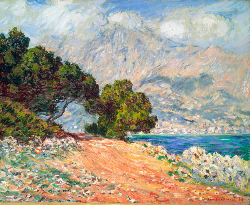similarities and differences between claude monet