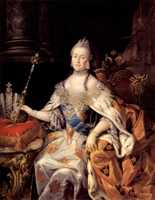 catherine the great colors in enlightenment
