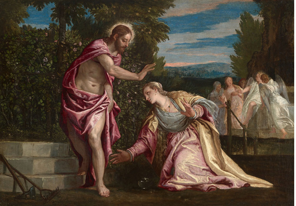 historical approach to noli me tangere 2018-2-5 titian painted noli me tangere around 1514, in a rich creative period immediately following his return to the canalled city of his birth with the departure of sebastiano del piombo for rome—where he would meet michelangelo and paint ng1 — the field for the ambitious young venetian was clear.